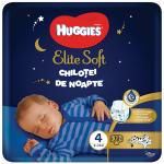Scutece-chilotel de noapte Huggies Elite Soft Pants Overnight marimea 4, 19 buc, 9-14 kg