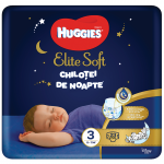Chilotei de noapte Elite Soft nr.3 6-11 kg  23 buc, Huggies