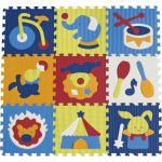 Covoras Puzzle Circul Minunat 92x92 cm