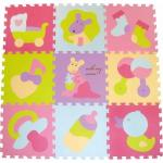 Covoras Puzzle Micul Cangur 92x92 cm
