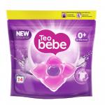 Detergent capsule pentru rufe Sensitive 14 capsule Teo Bebe