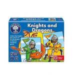 Joc educativ puzzle Cavaleri si Dragoni