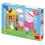 Puzzle Peppa Pig Puisorii 24 piese
