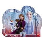 Puzzle cu rama Frozen II 25 piese