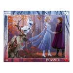 Puzzle cu rama Frozen II 40 piese