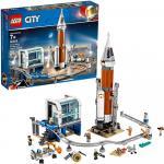 Lego City Racheta spatiala si centrul de comanda al lansarii