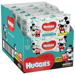 Servetele umede Huggies All Over Clean Mickey 10 pachete x 56 560 buc