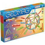 Set de constructie magnetic Geomag Confetti 127 piese