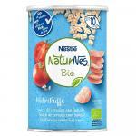 Snack din cereale Bio  NaturNes NutriPuffs cu rosie 35g de la 10 luni
