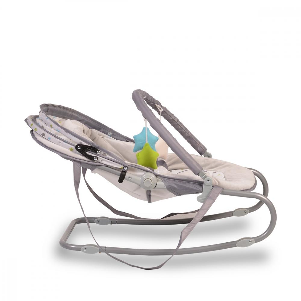 Balansoar pentru bebelusi Moni Lulu Grey