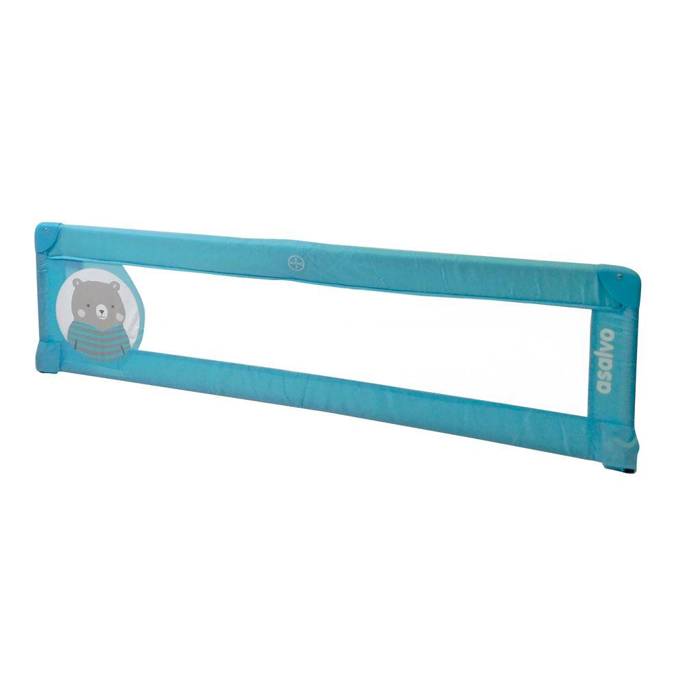 Bariera de protectie pentru pat Asalvo Bed Rail 150 cm Teddy Turquoise