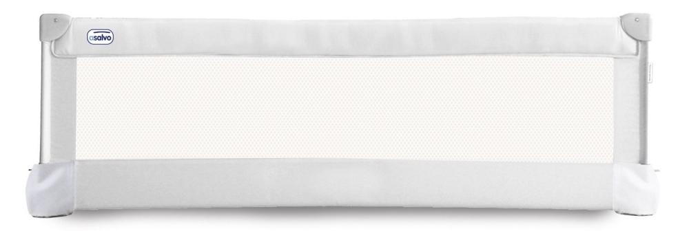 Bariera de protectie pentru pat Asalvo Bed Rail 150 cm White imagine