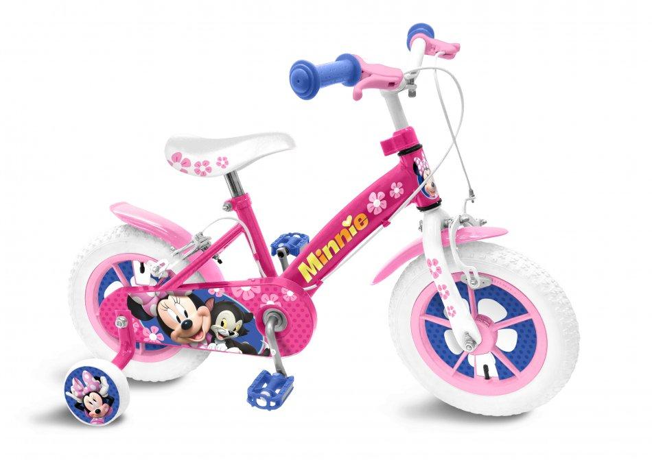 Bicicleta pentru fetite Stamp Minnie 12 inch