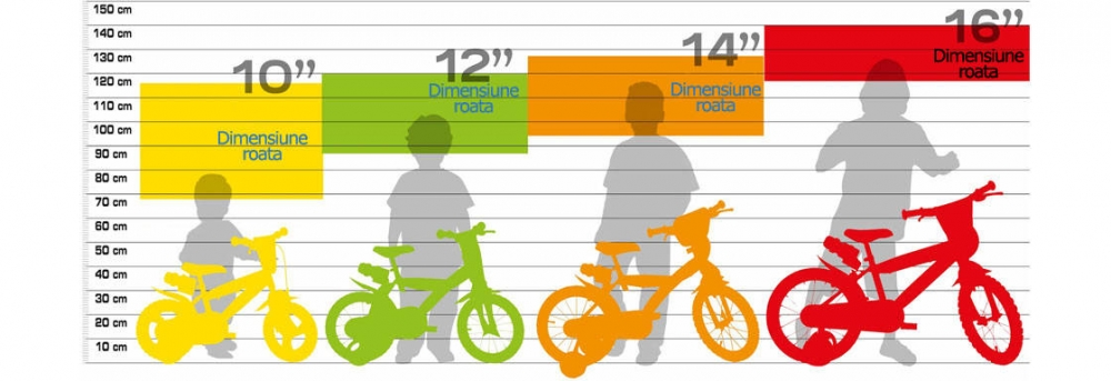 Bicicleta copii 12 RL