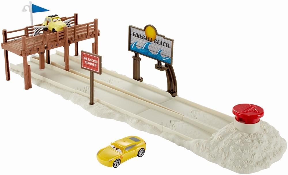 Set de joaca Cars 3 cursa pe plaja