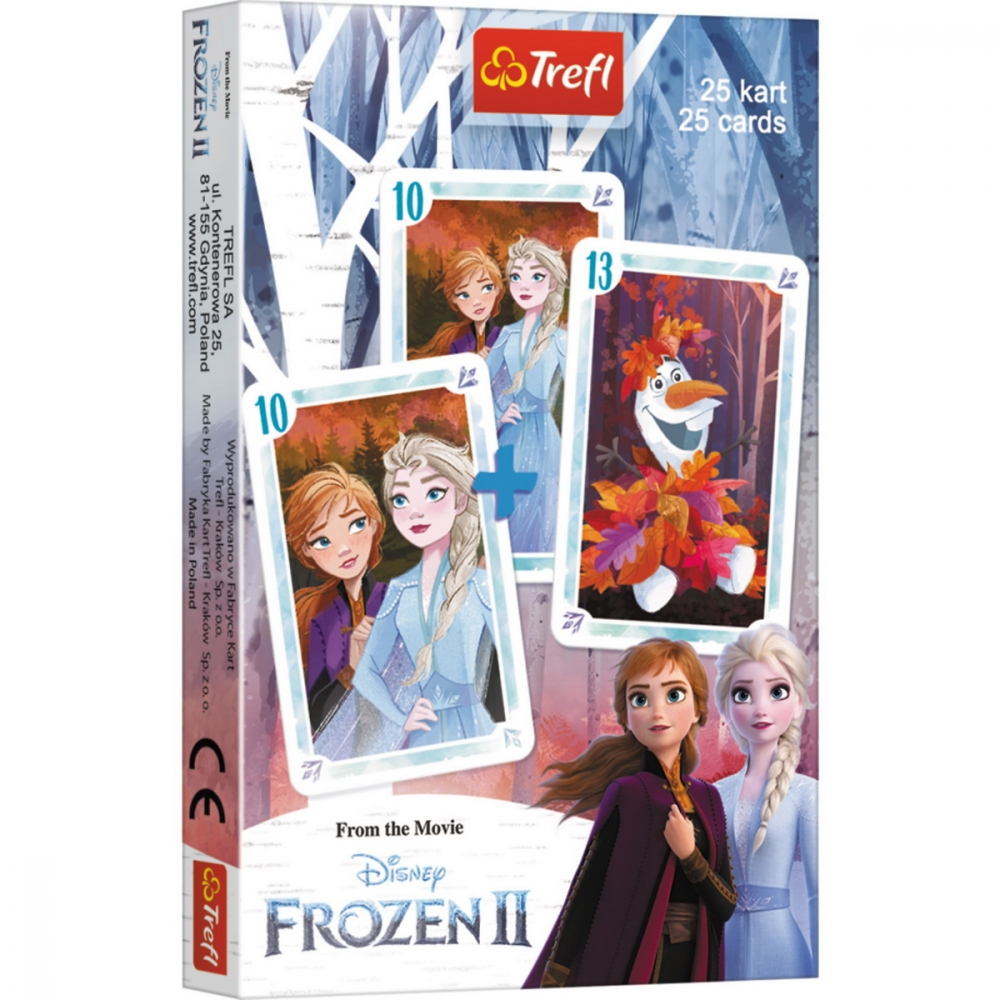 Carti de joc pacalici Frozen 2