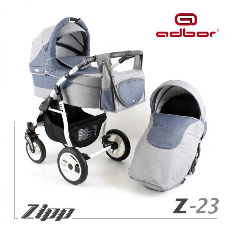 Adbor Carucior 3 in 1 Adbor Zipp