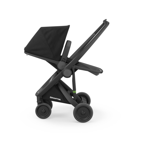 Carucior Reversible 100 Ecologic Black Black imagine