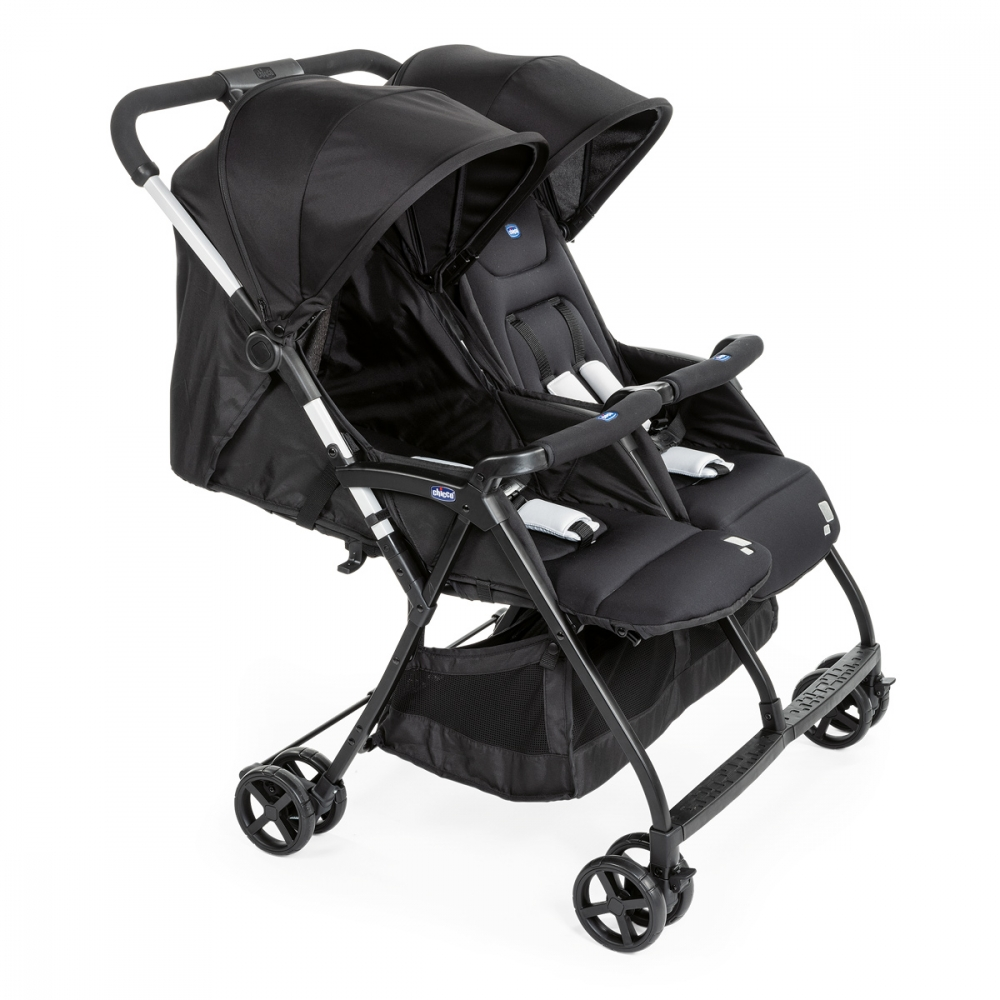 Carucior Gemeni Chicco Ohlala Black Night 0luni+