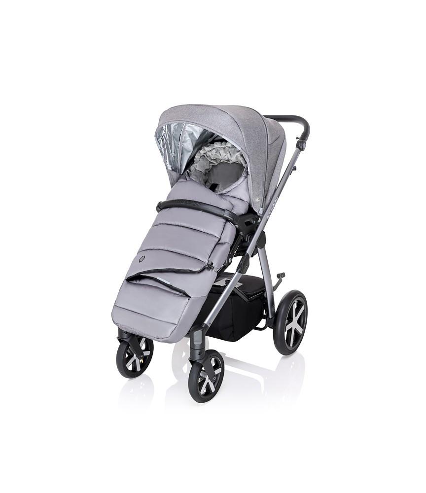 Carucior multifunctional Baby Design Husky + Winter Pack 07 Gray 2020