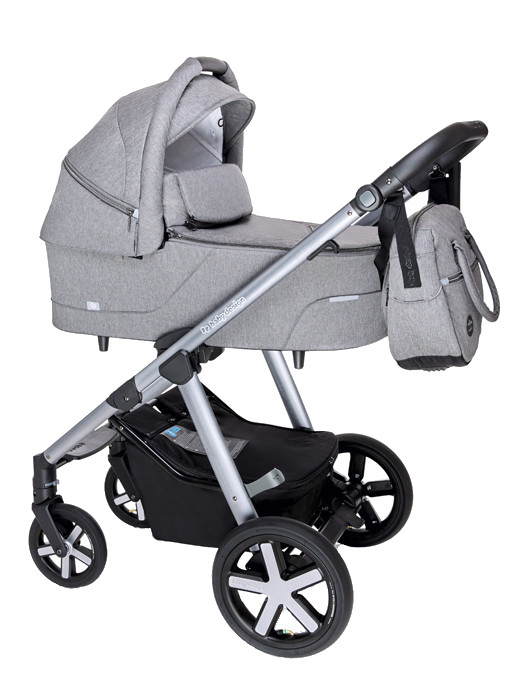 BABY DESIGN Carucior multifunctional Baby Design Husky + Winter Pack 07 Gray 2020