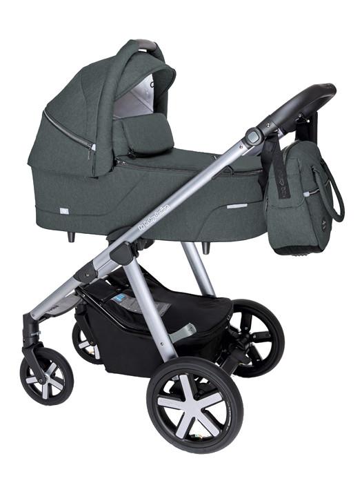 BABY DESIGN Carucior multifunctional Baby Design Husky + Winter Pack 17 Graphite 2020