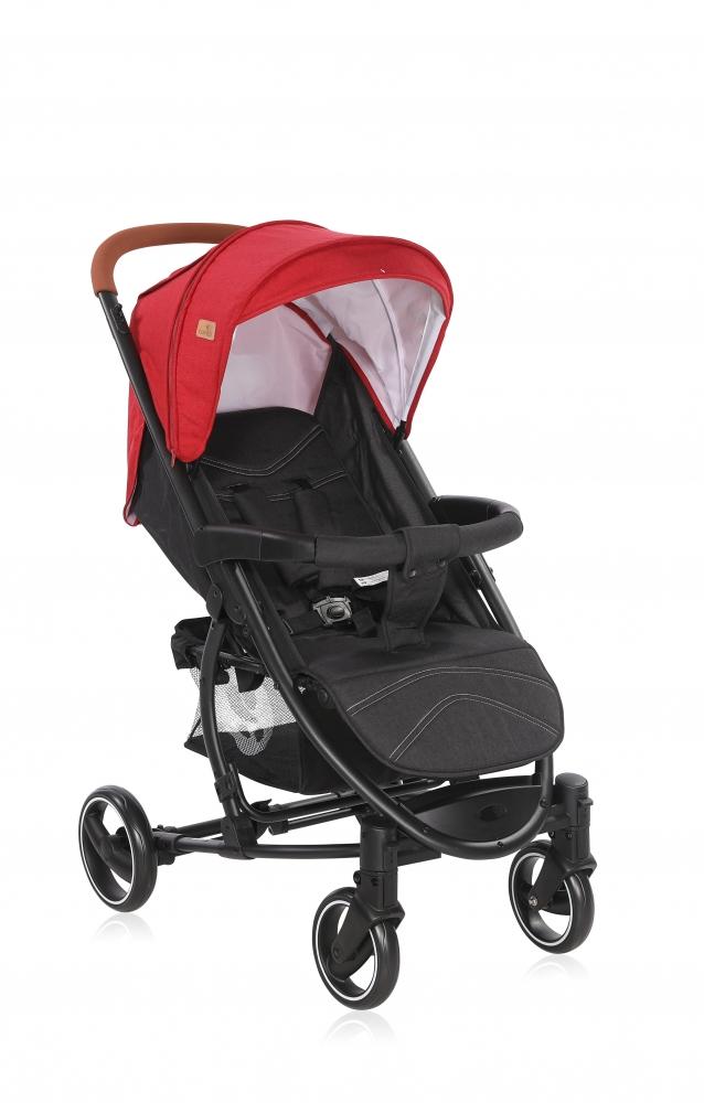 Carucior pentru nou-nascut S 300 Red Black