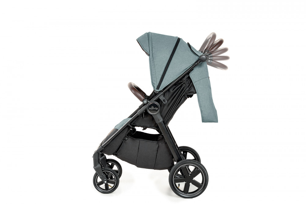 Carucior sport cu roti gonflabile Baby Design Look Air 05 Turquoise 2020 - 5