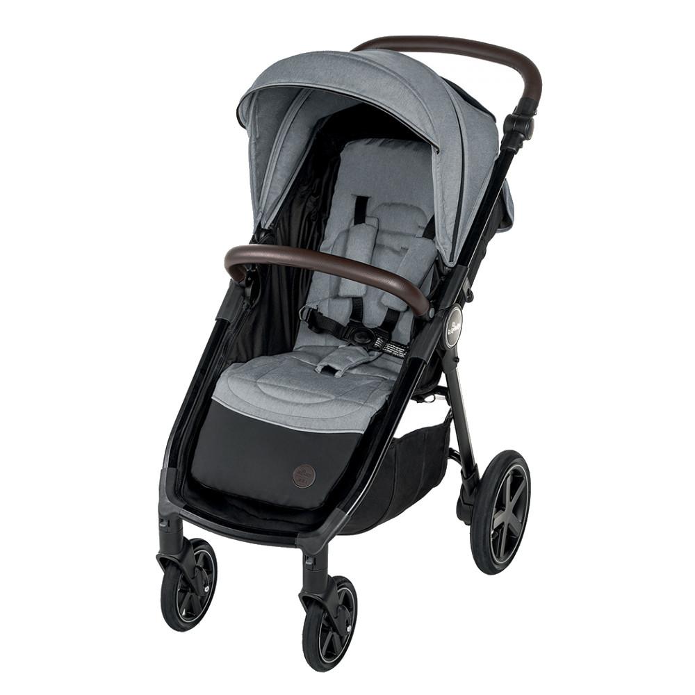 Carucior sport cu roti gonflabile Baby Design Look Air 07 Gray 2020 - 10
