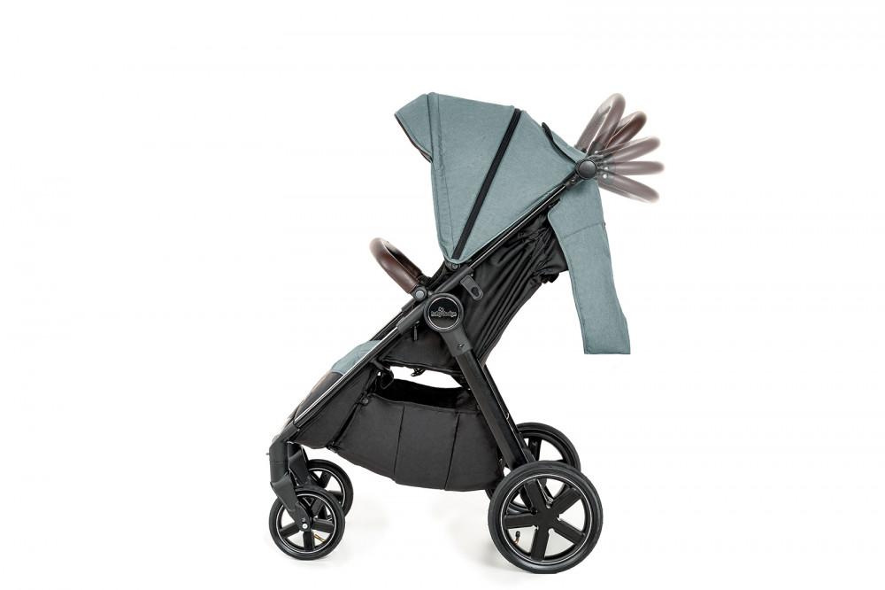 Carucior sport cu roti gonflabile Baby Design Look Air 07 Gray 2020 - 4