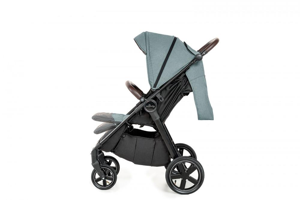 Carucior sport cu roti gonflabile Baby Design Look Air 07 Gray 2020 - 9