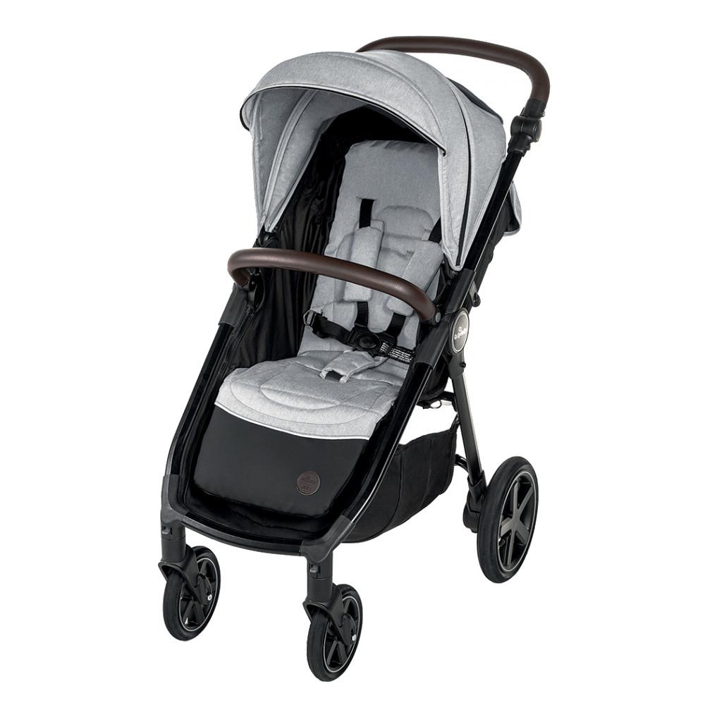 BABY DESIGN Carucior sport cu roti gonflabile Baby Design Look Air 27 Light Gray 2020