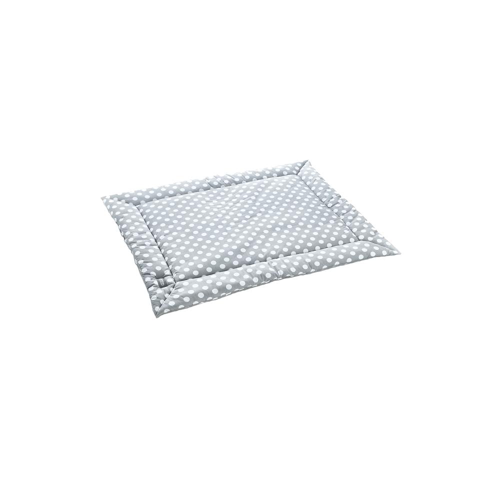 Covoras de joaca 80x110 cm BabyJem Dots Grey imagine