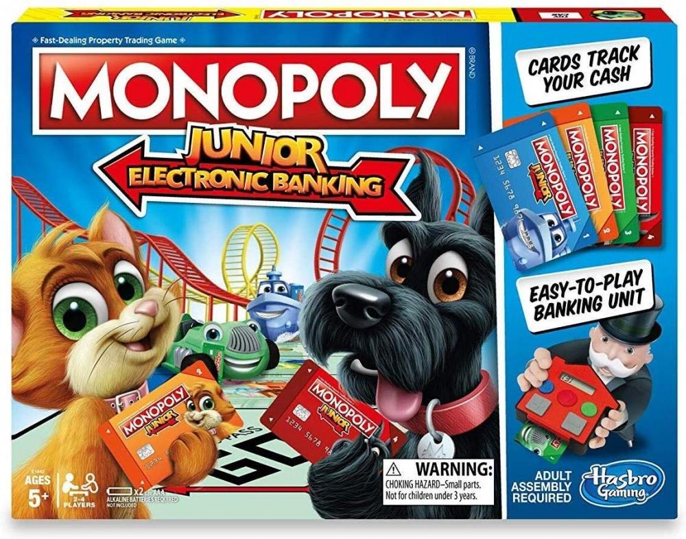 Joc Monopoly Junior Electronic Banking Ro