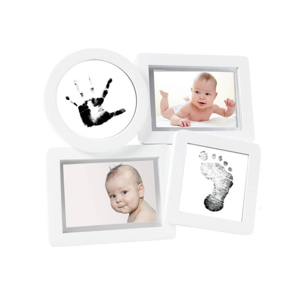 Rama foto multipla pentru amprente Pearhead Babyprints Collage Frame