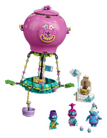 Lego Trolls Aventura lui Poppy cu balonul cu aer cald
