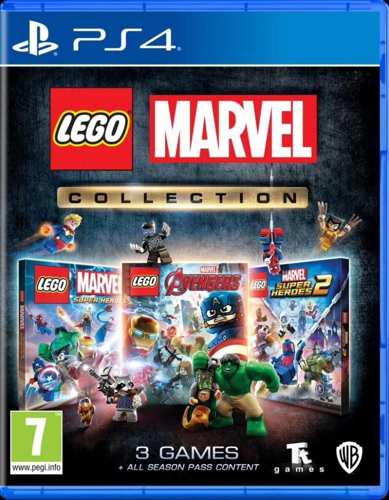 Joc Lego Marvel Collection PS4