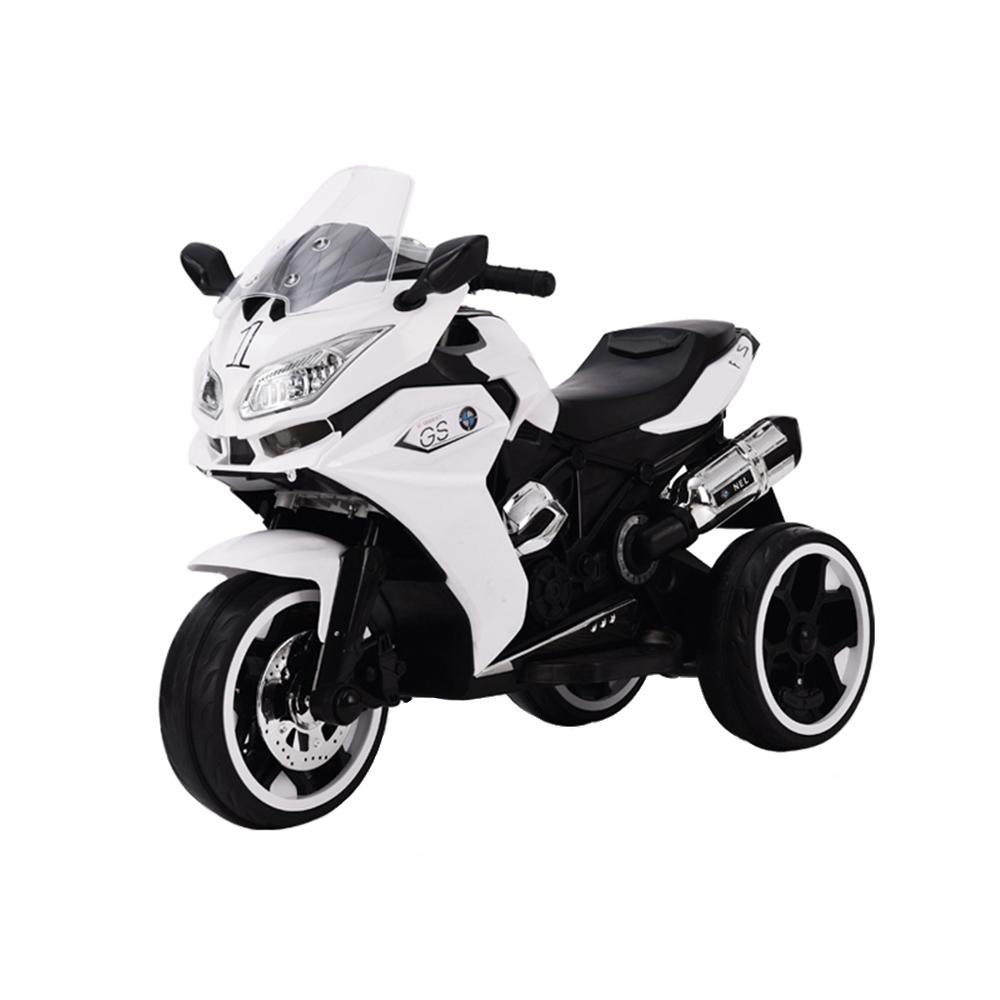 Motocicleta electrica cu lumini LED Torino White imagine
