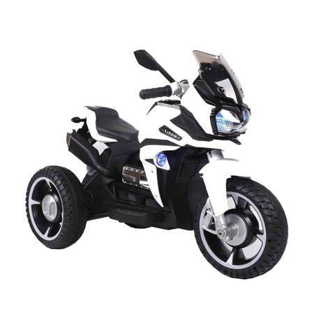 Motocicleta electrica cu lumini Ontario White