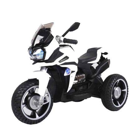 Motocicleta electrica cu lumini Ontario White - 1