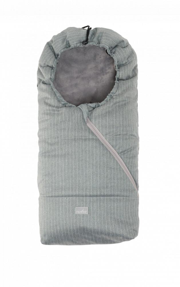 Sac de iarna 80 cm Ovetto Pop Pinstripe Gray Gray 9235