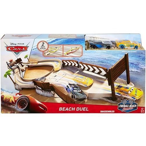 Pista circuit Beach Duel Fireball Beach Racers Cars 3