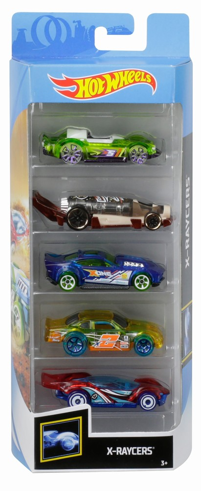 Set 5 masinute Hot Wheels X Raycers