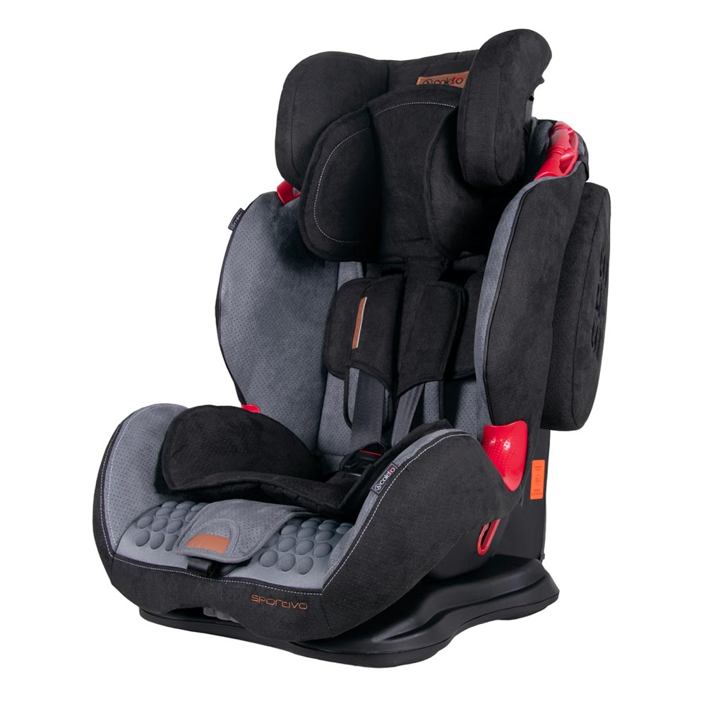 Scaun auto Sportivo Grey+Black 9-36 kg Coletto imagine