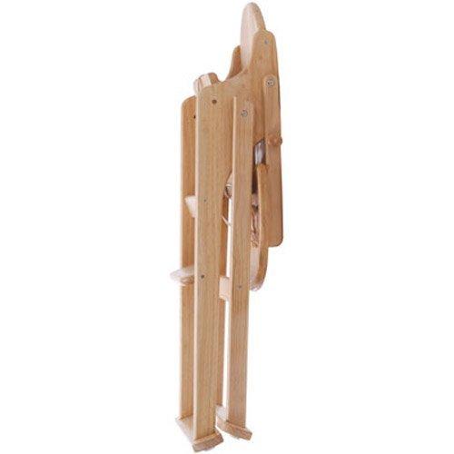 Scaun de masa pliabil din lemn