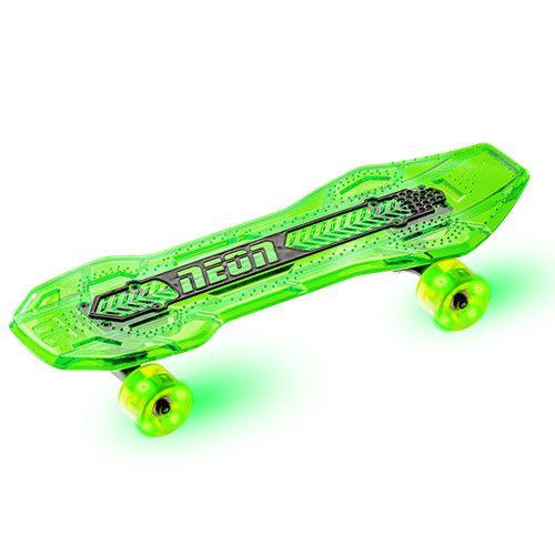 Skateboard Neon Cruzer Yvolution cu led Verde imagine