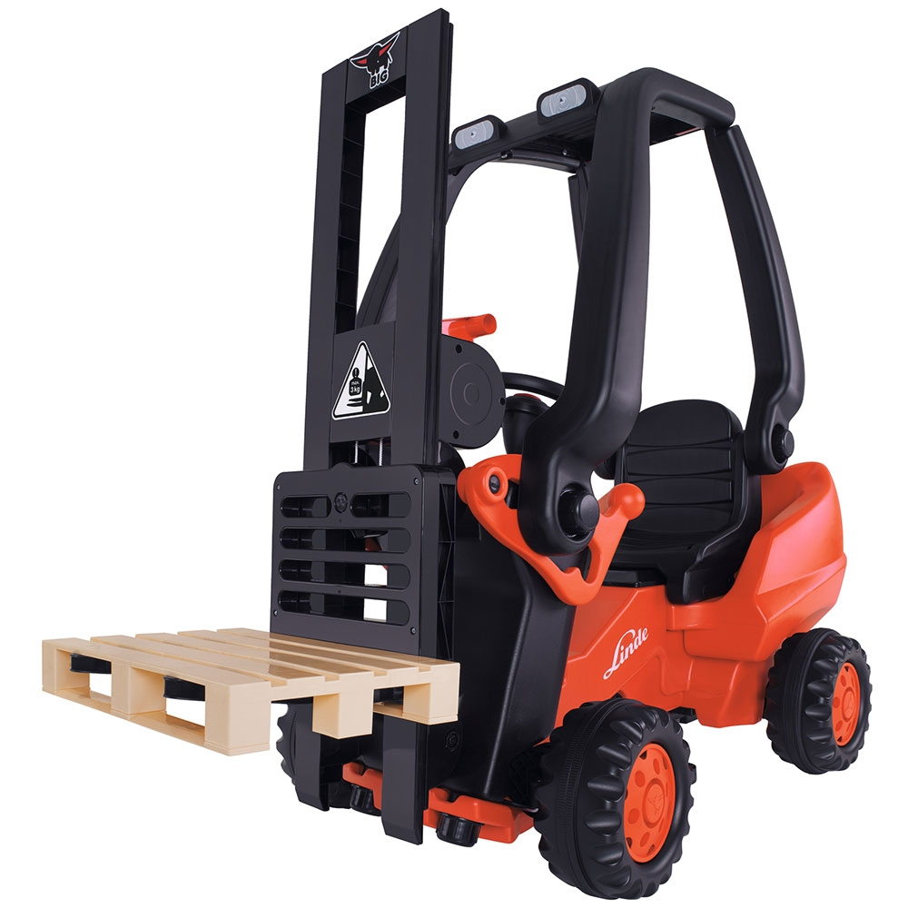 Stivuitor cu pedale Big Linde Forklift