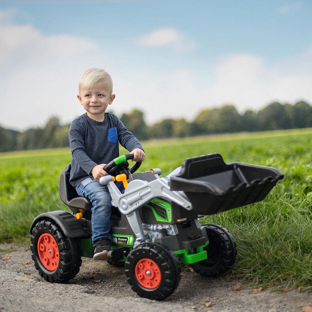 Tractor cu pedale Big Jim Turbo - 3