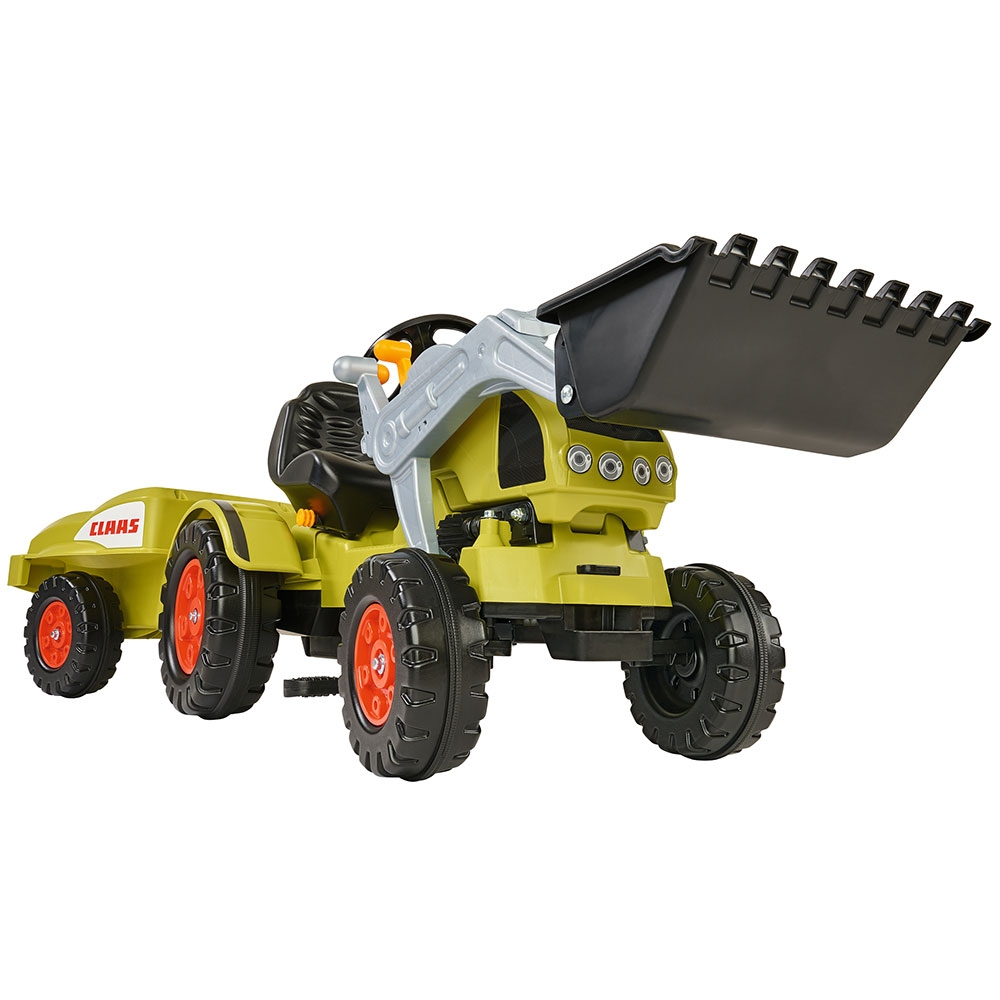 Tractor cu pedale si remorca Big Claas Celtis Loader imagine