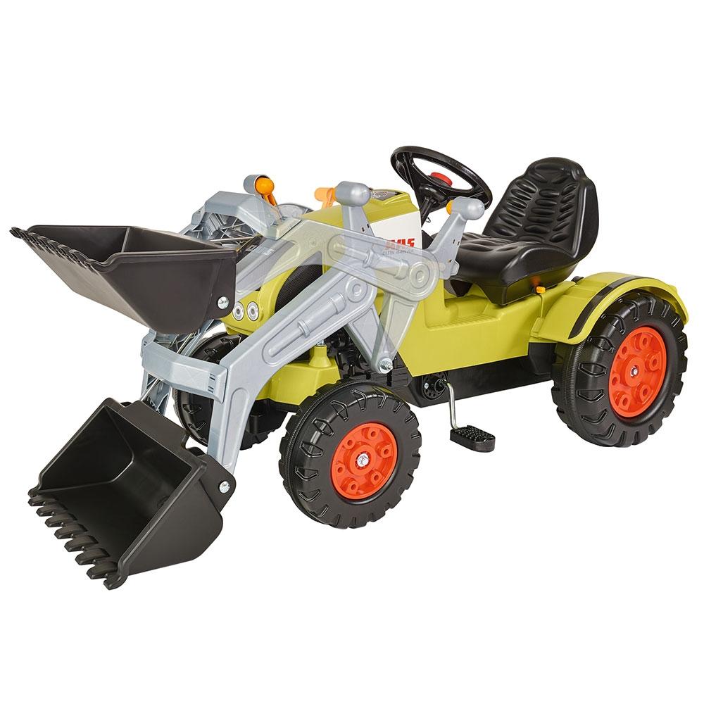 Tractor cu pedale si remorca Big Claas Celtis Loader - 1
